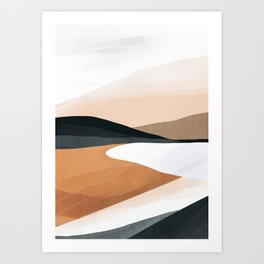 Abstract Art Landscape 15 Art Print