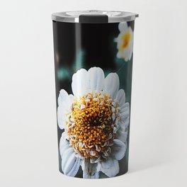 WhiteFlower Travel Mug