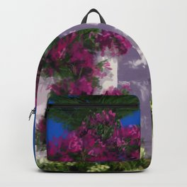 Santa Barbara Bougainvillea DP150606a Backpack