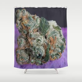 Jenny's Kush Medicinal Marijuana Shower Curtain
