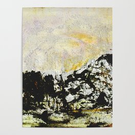 Golden mountains Poster