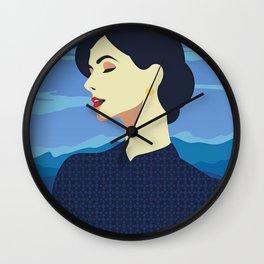 Girl Retro Style 07 Wall Clock