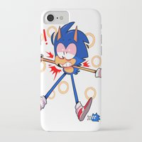 sonic iPhone & iPod Cases featuring sonic by Kai L.