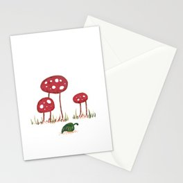 Fall Shrooms Stationery Cards