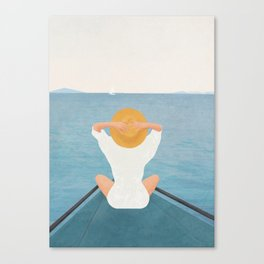 Summer Vacation I Canvas Print