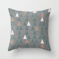 Concrete & Pattern Throw Pillow