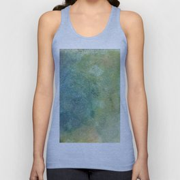 Pastel Abstract Watercolor Painting Unisex Tank Top