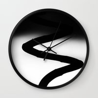 dna Wall Clocks featuring Dna by ArtBite