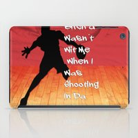 snatch iPad Cases featuring Shooting In Da Gym by Graffixartist