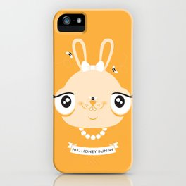 Ms. Honey Bunny iPhone Case