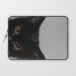 Black Kitten Laptop Sleeve