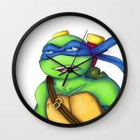 leonardo Wall Clocks featuring Leonardo by Savanity