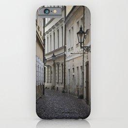 Alleyway in Prague iPhone Case