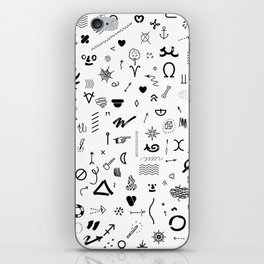 DINGBATS FY iPhone Skin