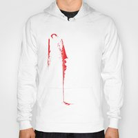 vampire diaries Hoodies featuring Vampire by Mr. And Mrs. Inky Hands