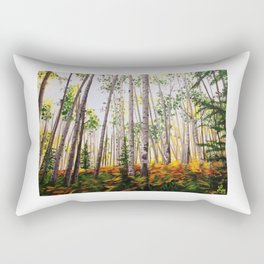 The Aspen Grove Rectangular Pillow