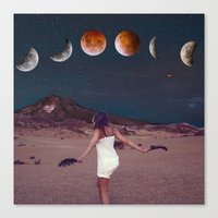planets Canvas Prints featuring Planets by Cs025