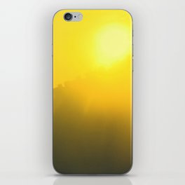urban sunset iPhone Skin