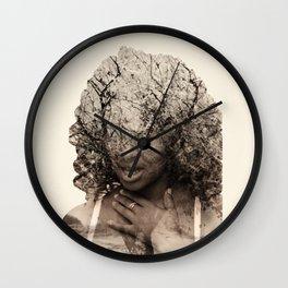 Integrated photos Wall Clock