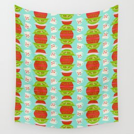 Christmas Pyrex Wall Tapestry