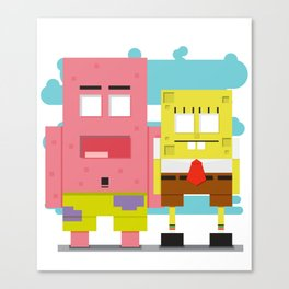 BOB & PATRICK Canvas Print