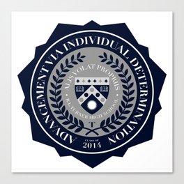 'Aficionado' AVID Official Seal Canvas Print