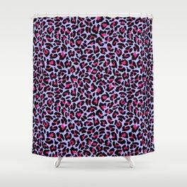 Neonpard Shower Curtain