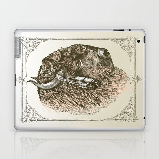 Buffalo Portrait Laptop & iPad Skin