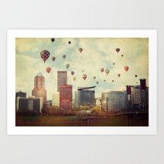 Portland Oregon Whimsy Art Print