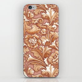 Golden Rose Treasure iPhone Skin