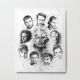 Proyecto Vengadores Metal Print