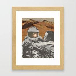 """The lonely"" Framed Art Print"