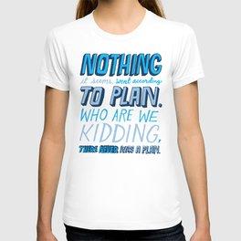 No Plan T-shirt