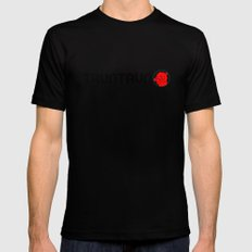 frosty MEDIUM Black Mens Fitted Tee