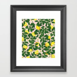 Lemonade #society6 #decor #buyart Framed Art Print