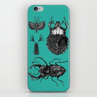 insects iPhone & iPod Skins featuring Insects by Ejaculesc