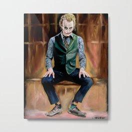 Joker Time Metal Print
