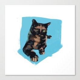 Shelter Cat Canvas Print