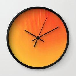 Thermal Depth Wall Clock