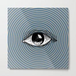 Pop Art Eye Metal Print