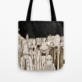 Innsmouth Meeting Tote Bag