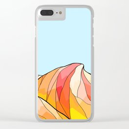 The hot dune Clear iPhone Case
