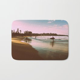Manly beach surf Bath Mat