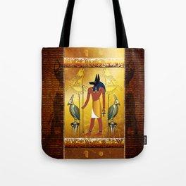 Anubis the egyptian god Tote Bag