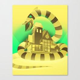 Sand Worm Canvas Print