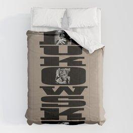 BUKOWSKI - 3 Portraits Comforters