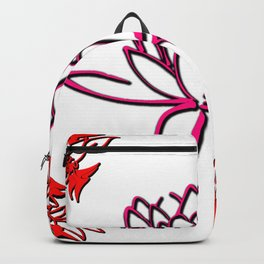 very beautiful flowers suitable for those who like flowers Backpack