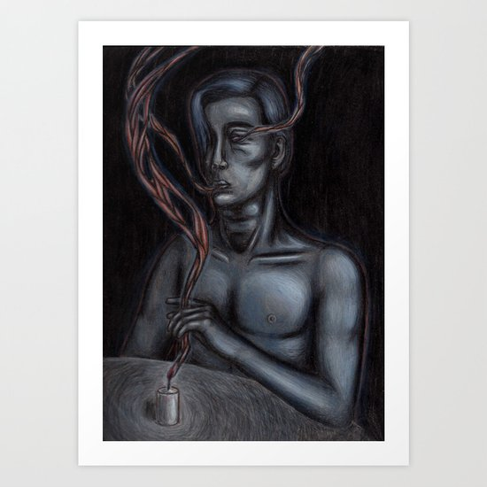 The Things You Used To Own Art Print