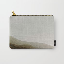 The Faded Forest on a River (Color) Carry-All Pouch