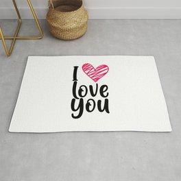 I love you 1 Rug